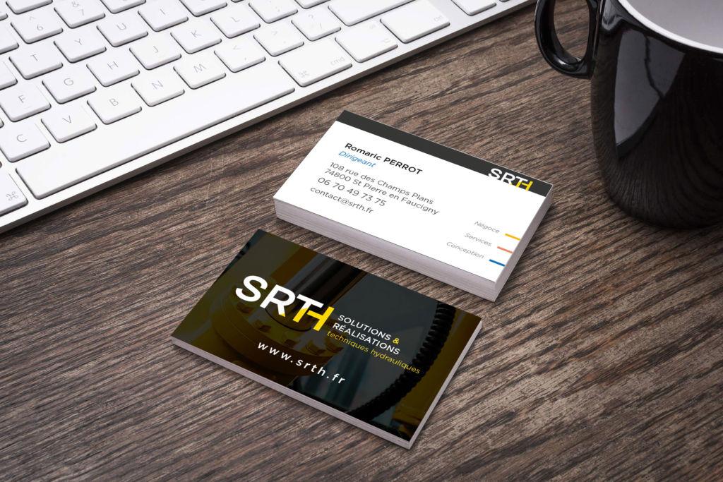 Carte de visite SRTH, Romaric Perrot