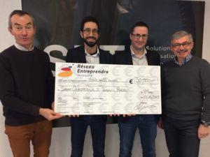 Simon Champeaux et Romaric Perrot subventionnés par le Réseau Entreprendre